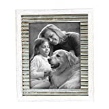 Foreside Home & Garden FFRD06113 8X10 Logan Distressed Frame White Review