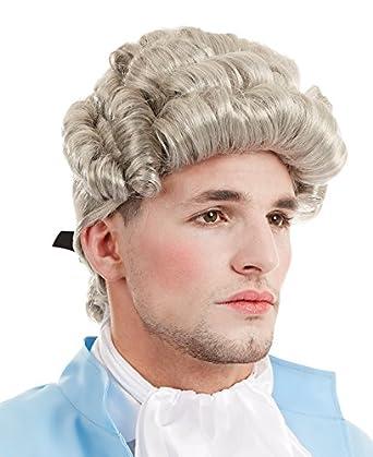 Disfraz de Georgia hombre de la peluca