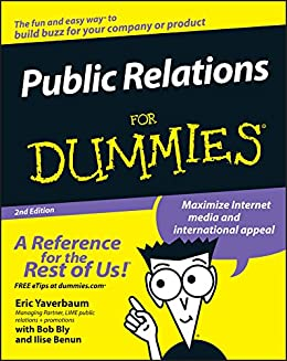Public Relations For Dummies by [Yaverbaum, Eric, Benun, Ilise]