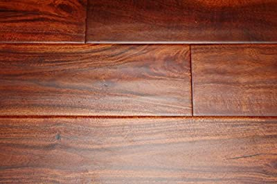 "Elk Mountain Acacia Rustic 1/2"" x 4-3/4"" Hand Scraped Engineered Click Lock Hardwood Flooring AH266 SAMPLE"