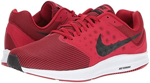 Nike Mens Downshifter 7, Gym RED Black-White, 11.5