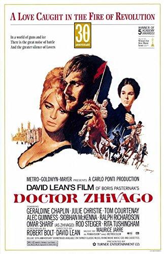 Doctor Zhivago Poster Movie B 11x17 Omar Sharif Julie Christie Geraldine Chaplin Rod Steiger