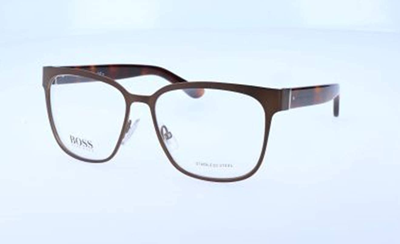 Hugo Boss Women's Hugo orange Brille Optical Frames, (Brown), 55.0