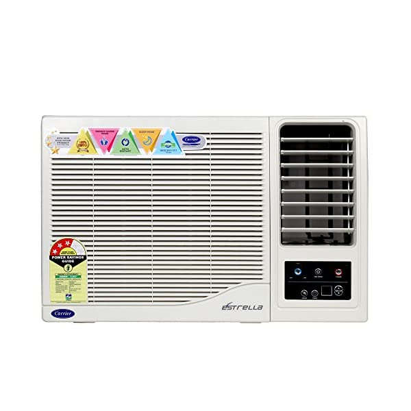 Carrier 3 Star Window AC - 1 Ton (Copper, Estrella, CAW12ET3N8F0, White)