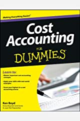 Cost Accounting For Dummies Paperback