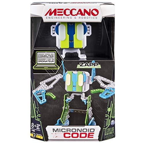 image Meccano Robot Personnel Jouet pour Enfants MicroNoid Code Zapp Vert 6040126
