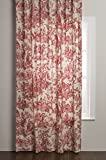 Maison d' Hermine The Miller 100% Cotton Toile Curtain 50 inch by 84 inch