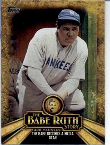 (2015 Topps Sultan of Swat Baseball Card #RUTH-10 Babe Ruth)