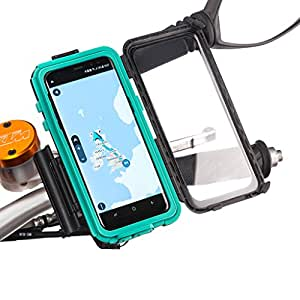 Ultimateaddons Samsung Galaxy S8 Tough Case + Quick Release Mount with Din Hella Kit ( Optional )