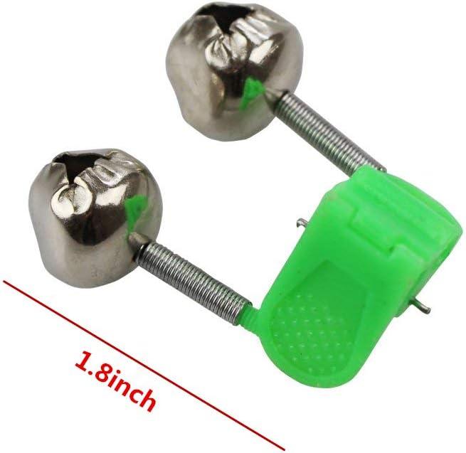 Fish Rod Bells 25pcs Fishing Rod Alarm Dual Alert Bells