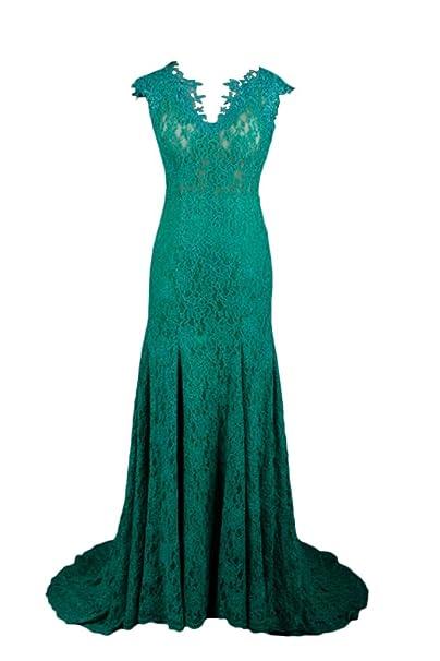 sunvary tul y encaje de sirena de Fashion de madre de la novia Vestidos: Amazon.es: Ropa y accesorios