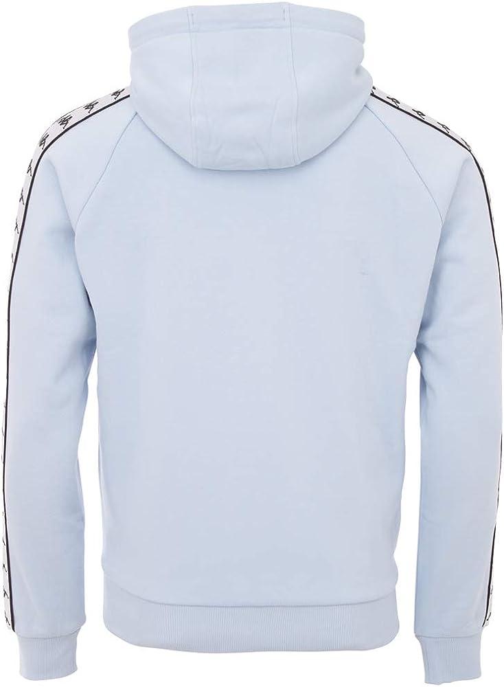 Kappa Herren Authentic Finnus Kapuzensweatshirt Cashmire Blue