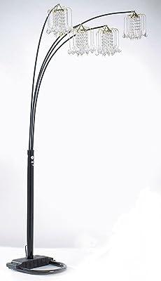 Artiva Usa A511118fsn Manhattan Modern Crystal Floor Lamp