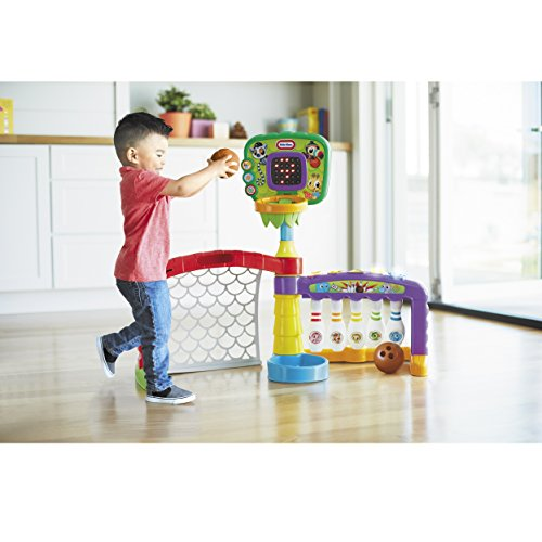 510oKx5WqdL - Little Tikes 3-in-1 Sports Zone Baby Toy, Infant Toy