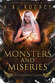 The Monsters and Miseries Series Boxset: A Forbidden Fated Mates Reverse Harem Series (English Edition)