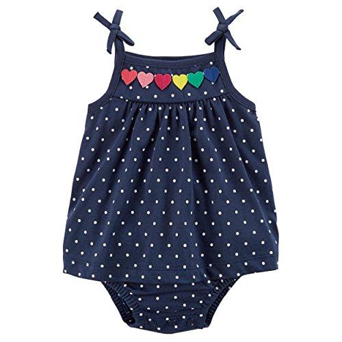 Carter's Baby Girls' 1 Piece Sunsuit 12 - Sunsuit Infant Girls Carters