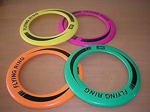 Fliegend Ring Frisbee - Erhältlich in 4 Leuchtende Farben - 1 Geliefert Flyer...