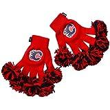 NHL Calgary Flames Embroidered Spirit Fingerz Pom Pom Gloves