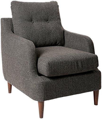 Homelegance Ella Martin Fabric Accent Chair, Gray