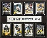 NFL Pittsburgh Steelers Antonio Brown 8-Card Plaque, 12 x 15-Inch