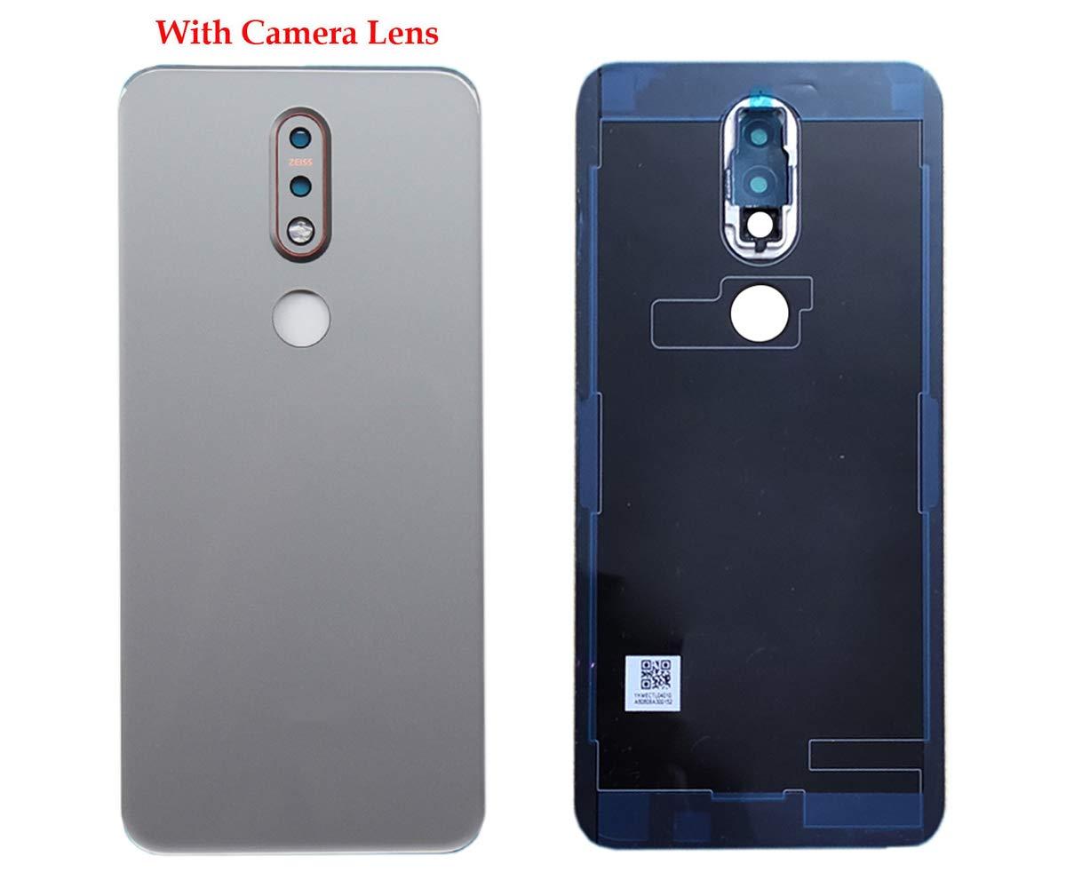 Repuesto tapa trasera con lentes para Nokia 7.1 TA-1100