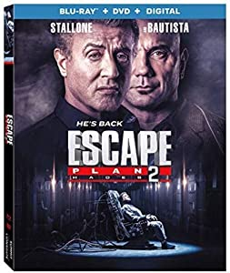 Cover Image for 'Escape Plan 2: Hades [Blu-ray + DVD + Digital]'