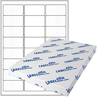 Etiquetas - 64 x 34 mm, rectangular - Poliéster, transparente ...