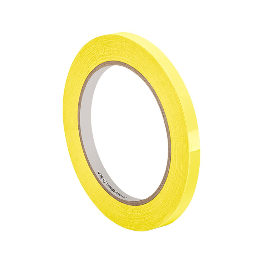 3M 56 Yellow Polyester Film Electrical Tape, 0.5'' width x 72yd length (1 roll)