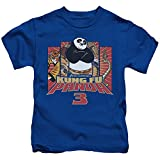 Kung Fu Panda Kung Furry Little Boys Shirt Royal Blue MD (5/6)
