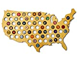 USA Beer Cap Map - Skyline Workshop - beautiful