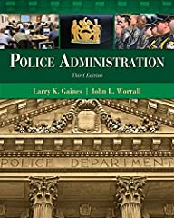 "POLICE ADMINISTRATION, 3rd edition, will give criminal justice students and practitioners the concrete knowledge to ascend through the ranks to become a chief, sheriff or other high ranking law enforcement official. ""On the Job"" boxes highlig..."