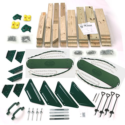 (Pine Bluff Backyard Play-Set Kit (4x4 Lumber and Slide not Included))