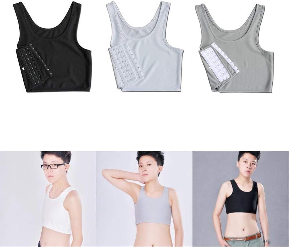 LZDseller01 Short Corset,Casual Sport Chest Vest Short Tank Top,Short Corset Sport Bra for Tomboy Lesbian Breathable Chest Binder