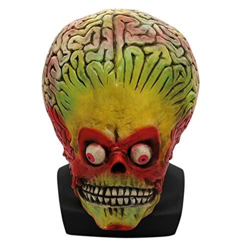 LBAFS Halloween Mask Adult Horror Skull Alien Mask Scary Masquerade Props ()