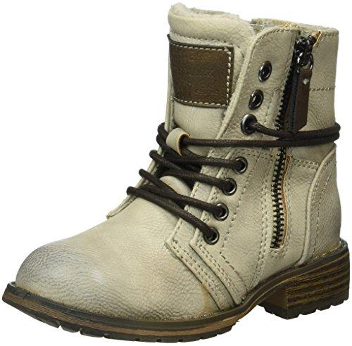 Supremo Mädchen 1661111 Kurzschaft Stiefel, Weiß (Offwhite), 35 EU