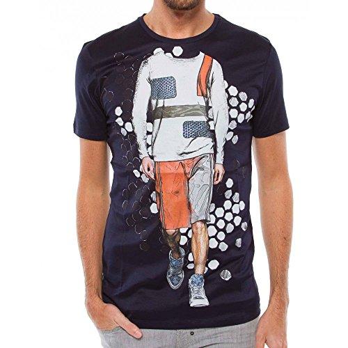 Antony Morato - Camiseta - para hombre azul marino