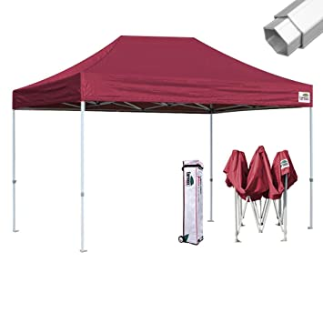 Image Unavailable  sc 1 st  Amazon.com & Amazon.com : Eurmax Aluminum Canopy Tent Commercial 10x15 Ez Pop up ...