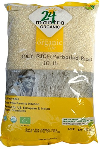 Organic Ildy Rice - 10 Lbs by 24 Letter Mantra
