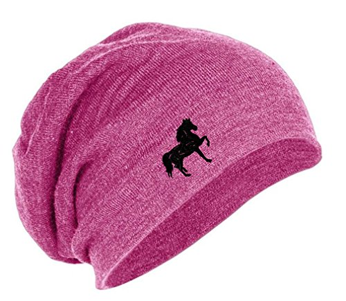 Speedy Pros Tennessee Walking Horse Embroidery Embroidered Slouch Long Beanie Skully Hat Cap -