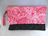 Waterproof Wet Bag, Bikini Swim Bag or Cloth Diaper Zipper Pouch