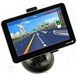 """eBoTrade-Tech 5"""" Car GPS Navigation Touch Screen FM MP3 MP4 4GB New Map WinCE6.0"""