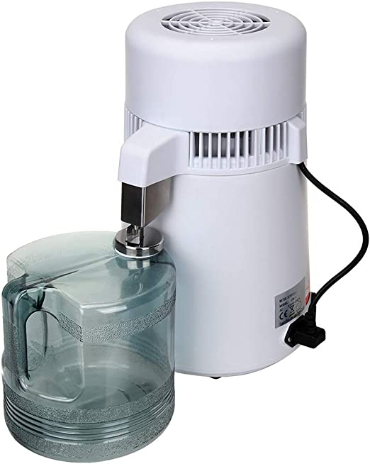 CAR SHUN Encimera Agua destilador máquina de Acero Inoxidable ...