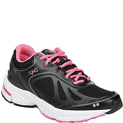 RYKA Women's Infinite Plus Sneakers Black/Pink 6.5 M