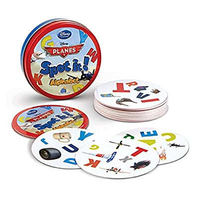 Spot it! Disney Planes - Alphabet: Toys & Games