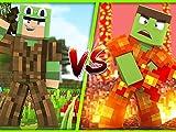 Lava vs%2E Wood Armor Challenge%21