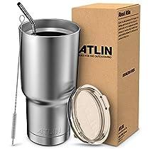 Atlin 30 oz. Double Wall Vacuum Insulation Tumbler