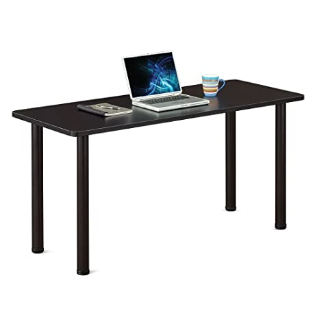 Gentil Multi Purpose Utility Table   60u0026quot; X 24u0026quot; Black Laminate Top/Black