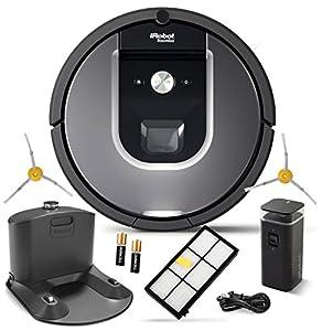 iRobot Roomba 960 Robot Vacuum (R960 + 1 Sidebrush Bundle)