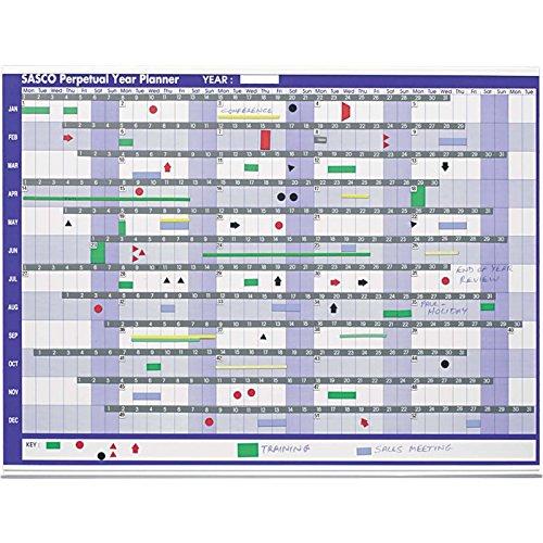 Sasco - Planner annuale riutilizzabile 2400001