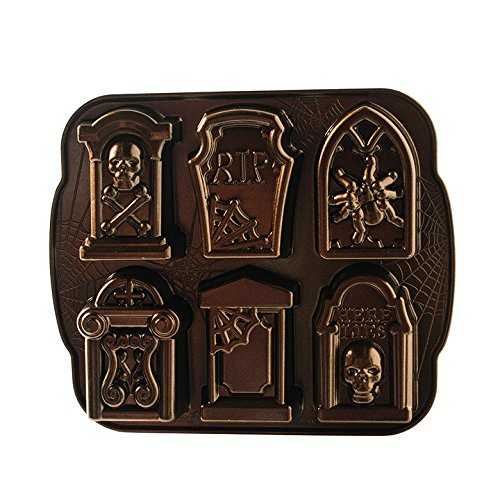 Nordic Ware Tombstone Cakeletes (Nordic Ware Cakelet Pan compare prices)